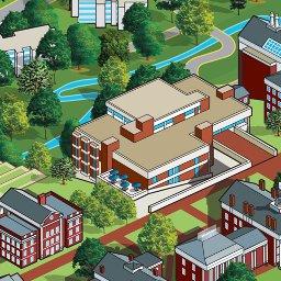 Washington And Lee Campus Map Washington and Lee University Interactive Campus Map
