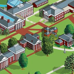 Washington and Lee University Interactive Campus Map